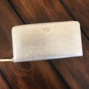 Kate spade gold Cameron street wallet
